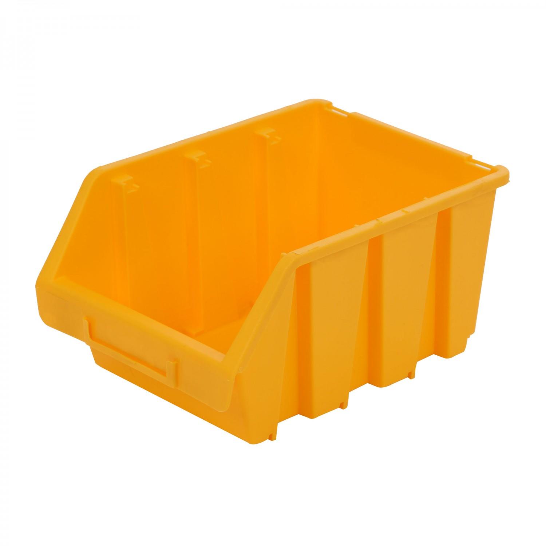 Cutie pentru depozitare, Patrol Ergobox 3, galben, 170 x 240 x 126 mm