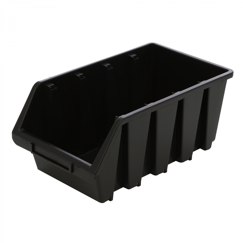 Cutie pentru depozitare, Patrol Ergobox 4, negru, 204 x 340 x 155 mm