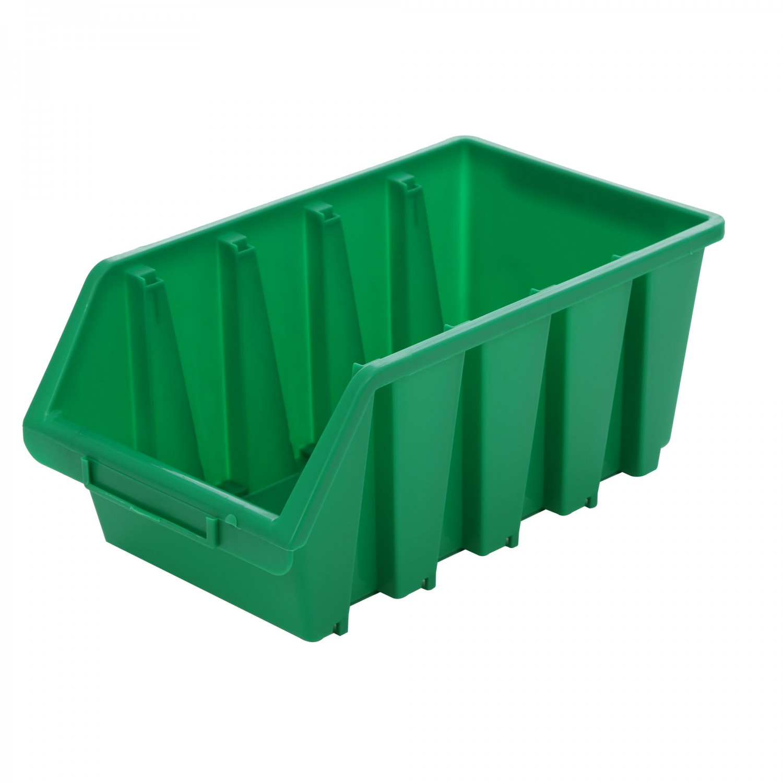 Cutie pentru depozitare, Patrol Ergobox 4, verde, 204 x 340 x 155 mm