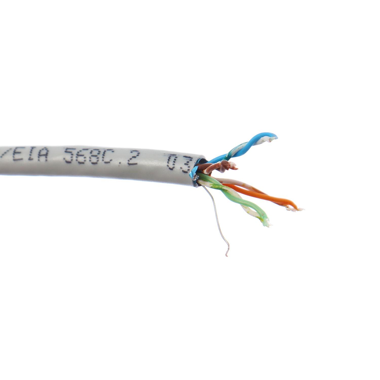 Cablu FTP Cat 5e 4 x 2 x 24 AWG, cupru