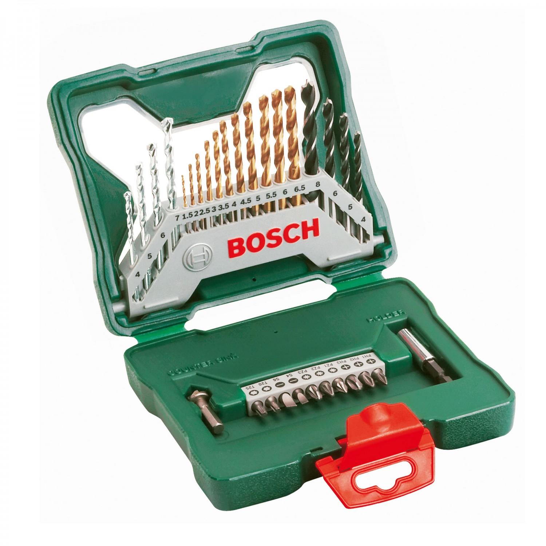 Set 30 accesorii, Bosch X-Line, 2607019324