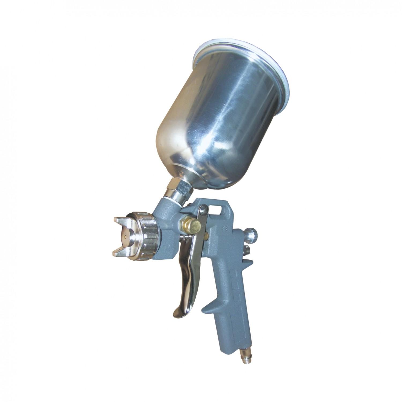 Pistol de vopsit pneumatic, Airmaster 61, cupa sus, 0.5 kg