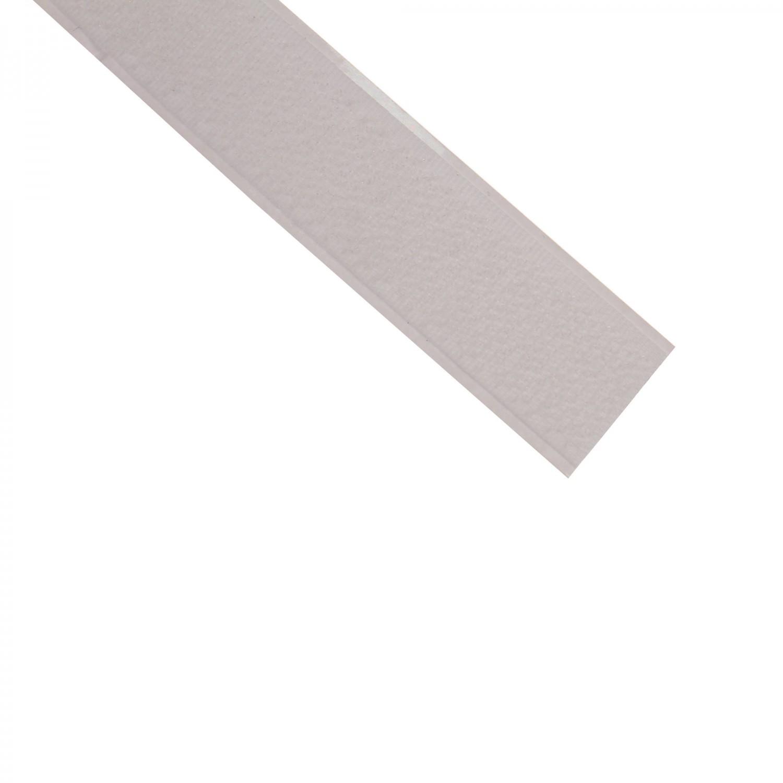 Banda adeziva, cu scai, alba, 20 mm