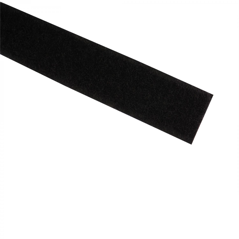Banda cu scai, moale, neagra, 20 mm