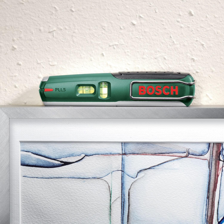 Nivela cu laser, Bosch PLL 5, cu 1 indicator