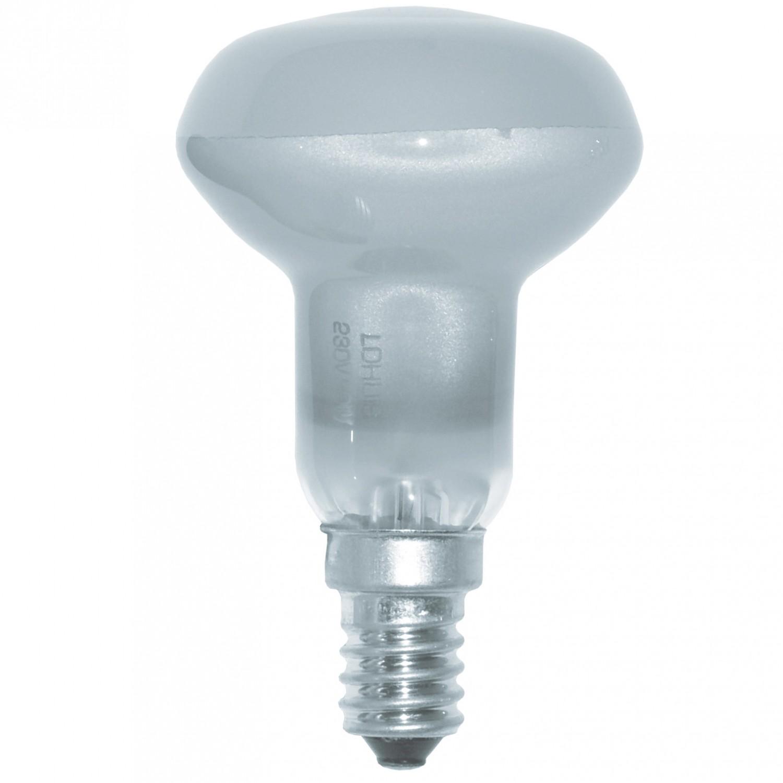 Bec reflector satinat E14 Lohuis R50 60W 230V
