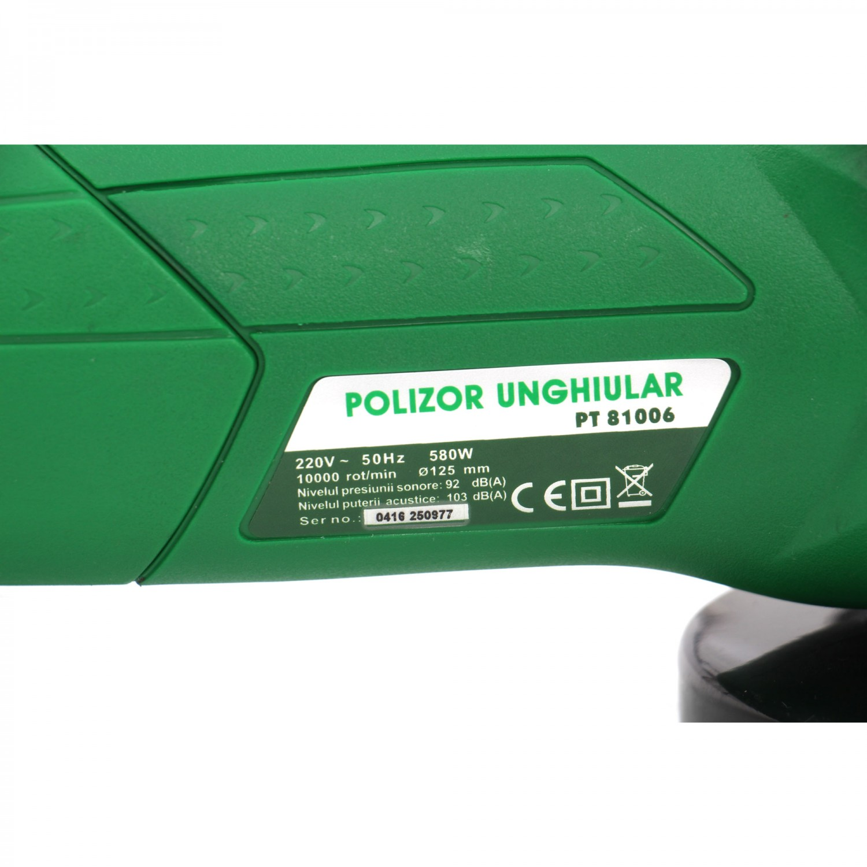 Polizor unghiular Hobbyst XPT81006, 580 W