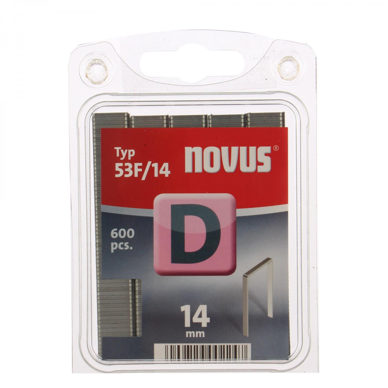 Cleme plate, Novus D 53 F, 14 mm, set 600 bucati