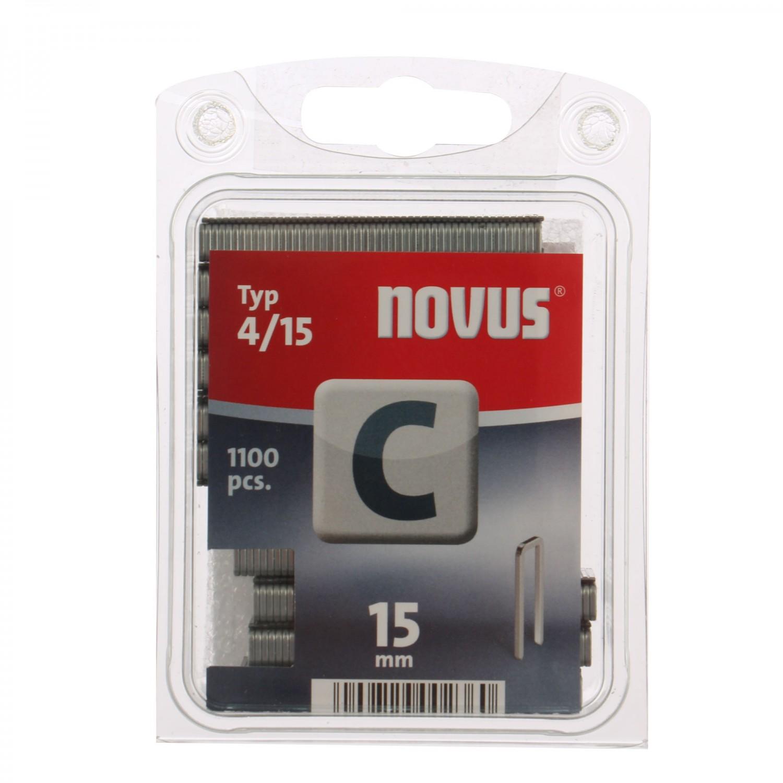 Cleme inguste, Novus C 4, 15 mm, set 1100 bucati