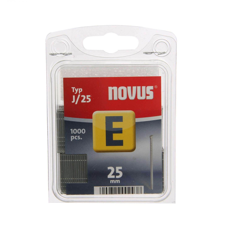 Cuie Novus, Type J, 25 mm, set 1000 bucati