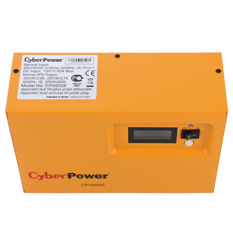 Sursa UPS CyberPower CPS600E, 600VA / 420W