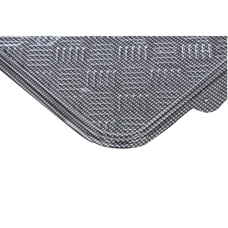 Covorase auto VGT Tuning, PVC, negru, 42 x 45 / 70 x 45 cm, set 4 bucati