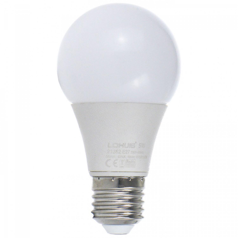 Bec LED Lohuis clasic A60 E27 5W lumina rece