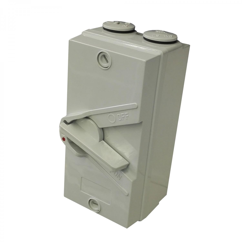 Intrerupator on / off Adeleq 02-413/63_2 IP56 3P 400V 63A