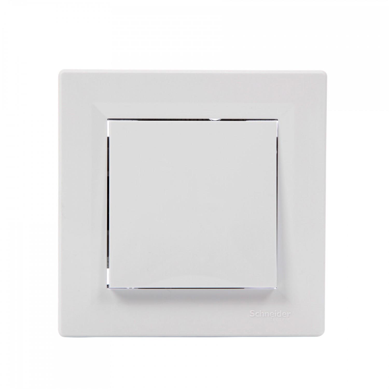 Intrerupator cap scara simplu Schneider Electric Asfora EPH0400121, incastrat, rama inclusa, alb