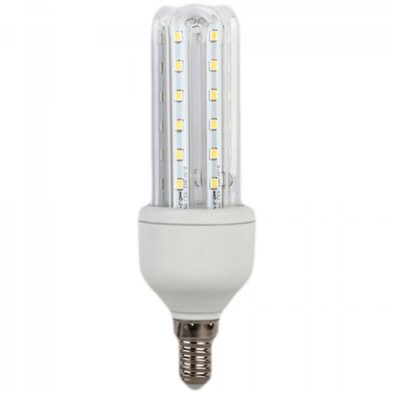 Bec LED Hoff tubular 3U E14 7W lumina calda