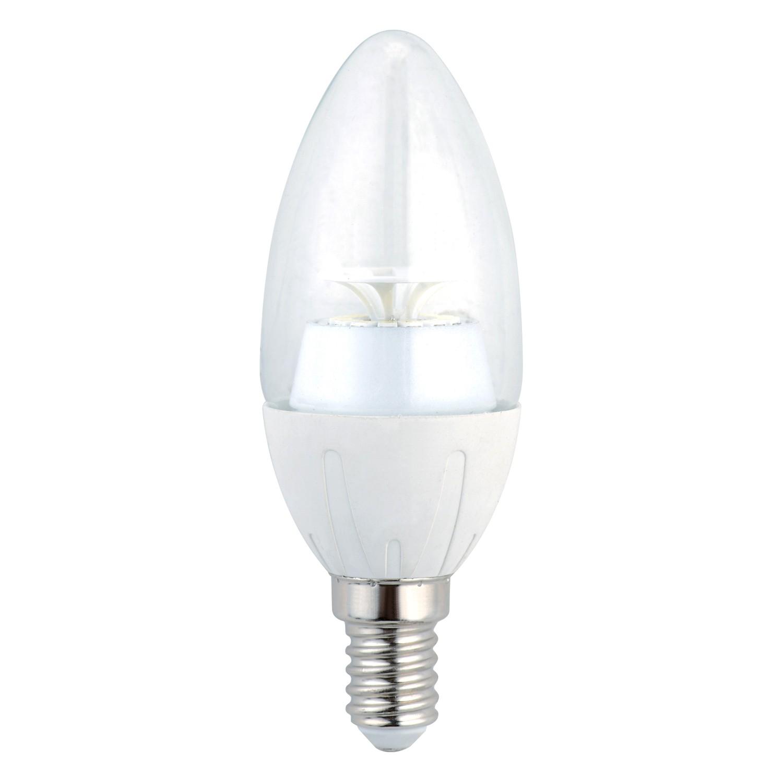 Bec LED Hoff lumanare E14 6W lumina calda