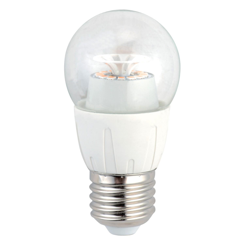 Bec LED Hoff clasic B45 E27 6W lumina rece