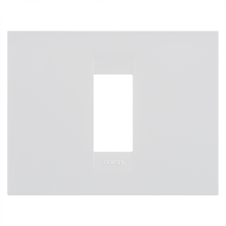 Rama Gewiss Chorus GEO GW16401TB, 1 modul, alb