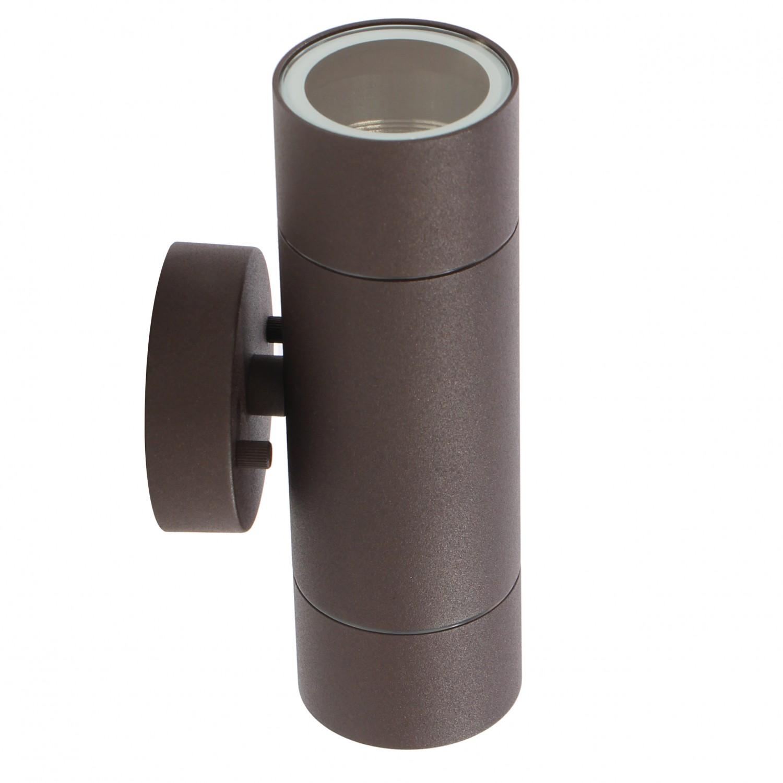 Aplica exterior 00-955/2, 2 x GU10, ruginie