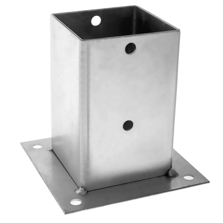 Camasuiala din tabla de otel zincat, 121 x 121 x 150 mm