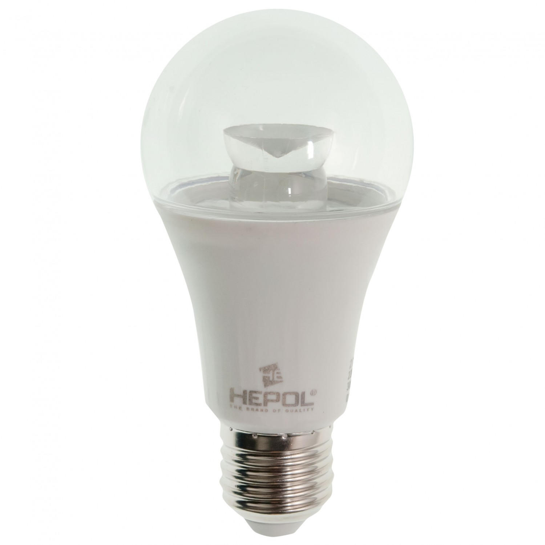 Bec LED Hepol clasic A60 E27 5W lumina calda