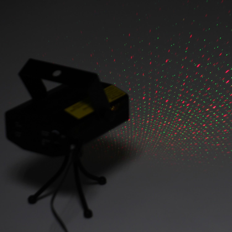 Proiector laser Craciun, interior, Hoff 52900000, rosu + verde