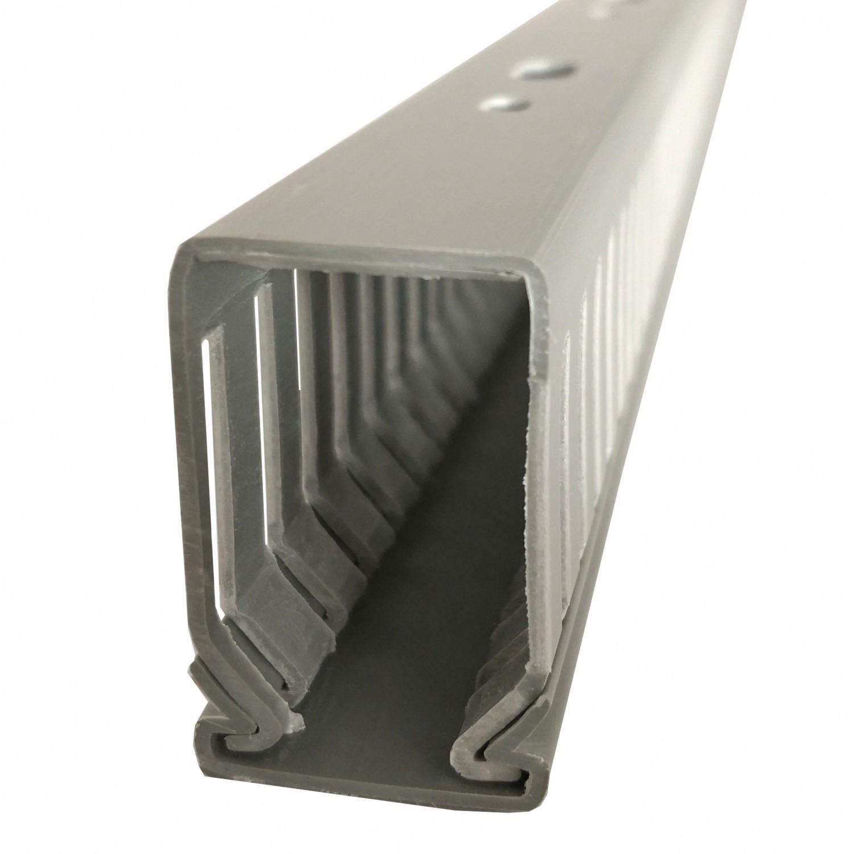 Canal cablu slitat 25 x 40 mm, 2 m, gri