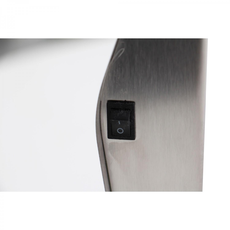 Aplica solara LED Hoff TH008B, metal, sticla, 30 x 20 x 4 cm