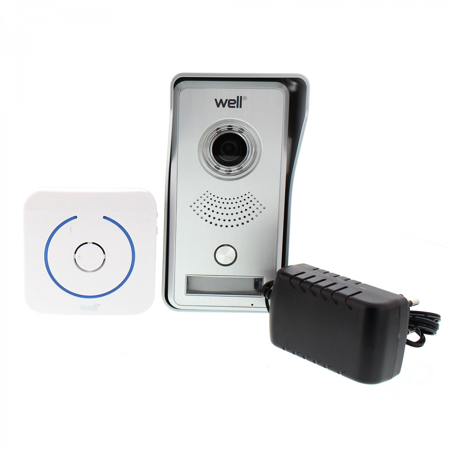 Interfon smart, wireless, Well VDPWF-SMARTBELLPLUS-WL, infrarosu