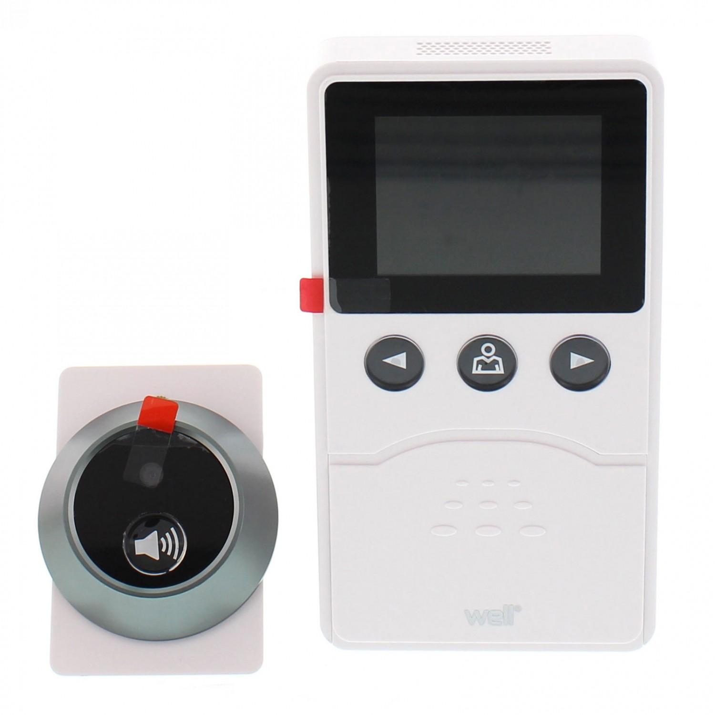 Vizor electronic, cu afisaj, Well 2.4 PHV-HISTORYCHECKER-WL