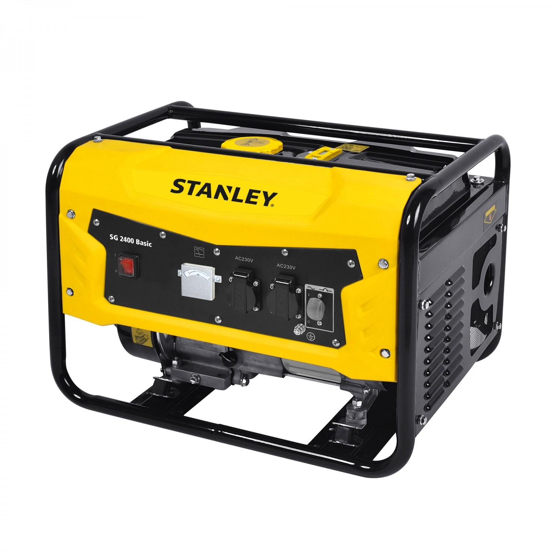 Generator de curent Stanley SG2400, monofazic, cu AVR, 2.4 kva, 6.5 CP