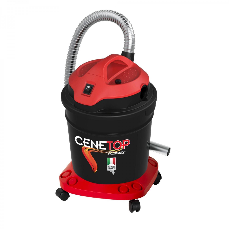 Aspirator pentru cenusa, Ribimex Cenetop, 1200 W, 18 L