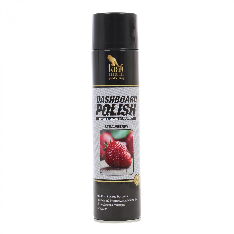 Spray silicon pentru bord Kraftmann 650 ml