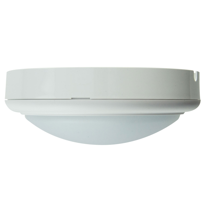 Aplica LED aparenta Hepol 15W rotunda lumina rece