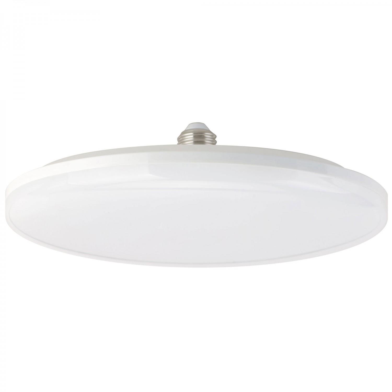 Bec LED Hoff rotund UF20 E27 24W lumina rece
