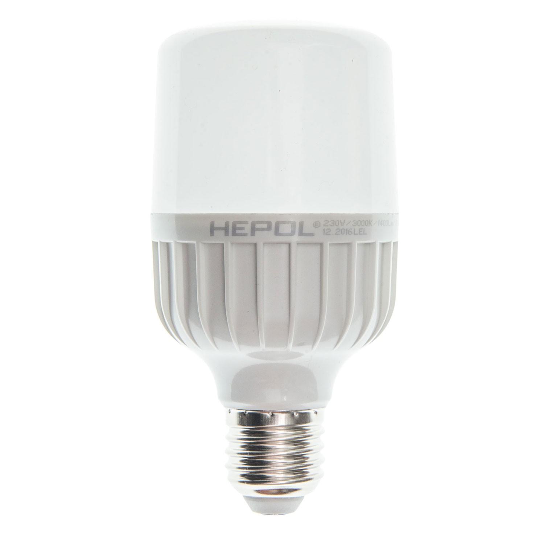 Bec LED Hepol tubular T65 E27 15W 1400lm lumina calda 3000 K