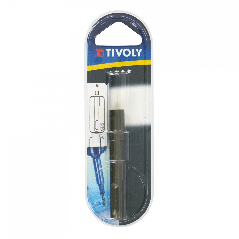 Adaptor magnetic SDS-Plus pentru biti, Tivoly, 75 mm