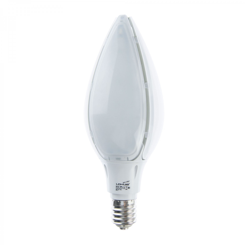 Bec LED Lohuis floare E40 80W lumina rece