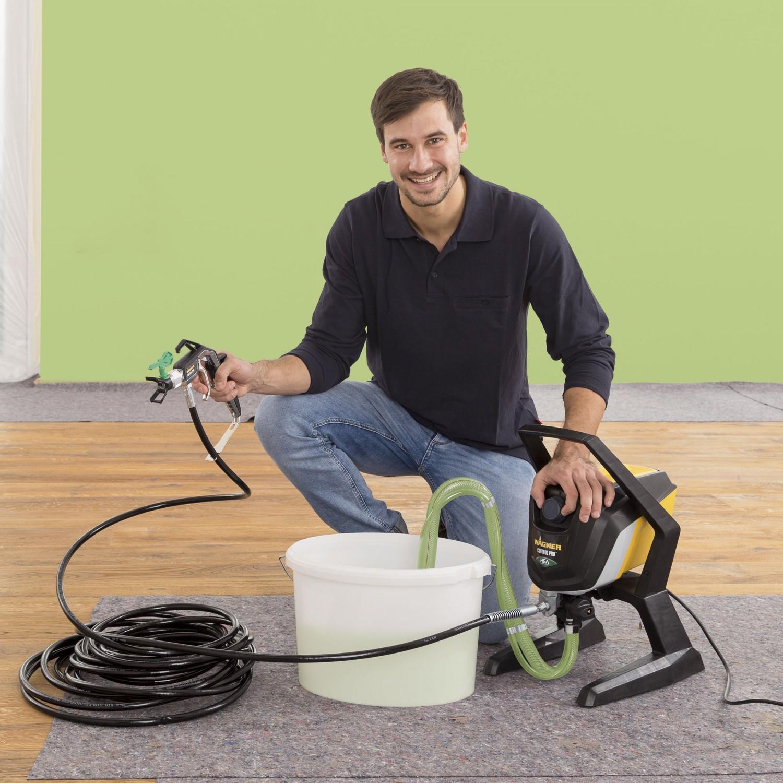 dedeman pistol de vopsit electric wagner control series. Black Bedroom Furniture Sets. Home Design Ideas