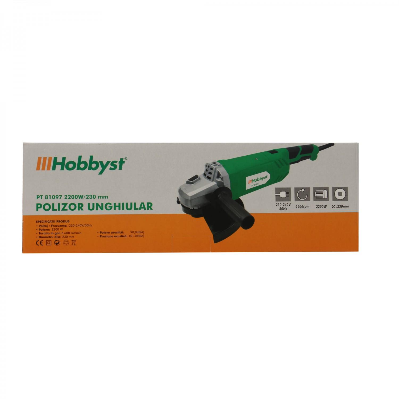 Polizor unghiular, Hobbyst PT81097, 2200 W