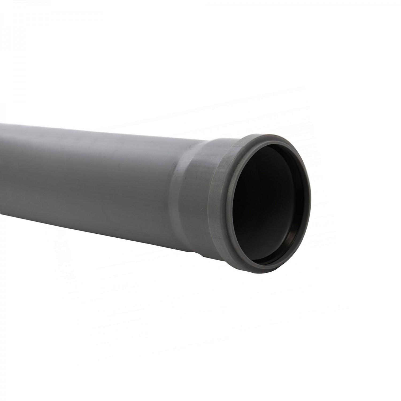 Teava PP pentru canalizare interioara, cu inel, 1000 x 110 x 2.7 mm