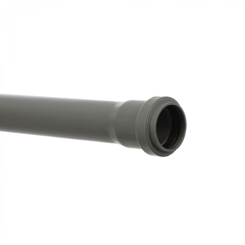 Teava PP pentru canalizare interioara, cu inel, 250 x 40 x 1.8 mm