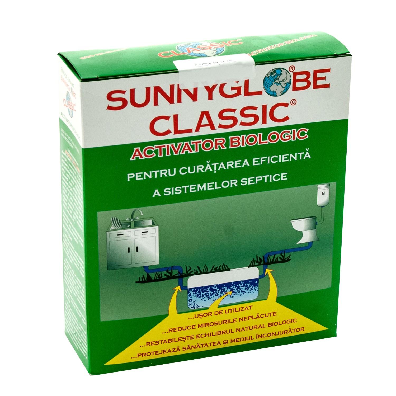 Activator biologic intretinere fose septice, Sunnyglobe Classic, praf, 12 plicuri