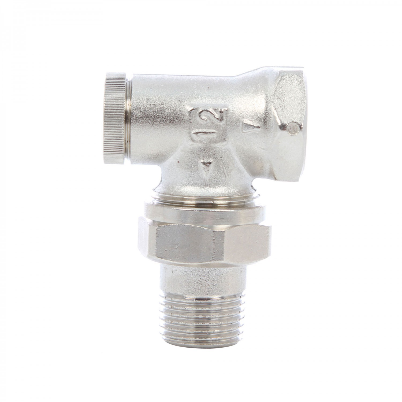 Robinet retur coltar, pentru radiator, Herz, RL-1, 1372441, D 1/2 inch