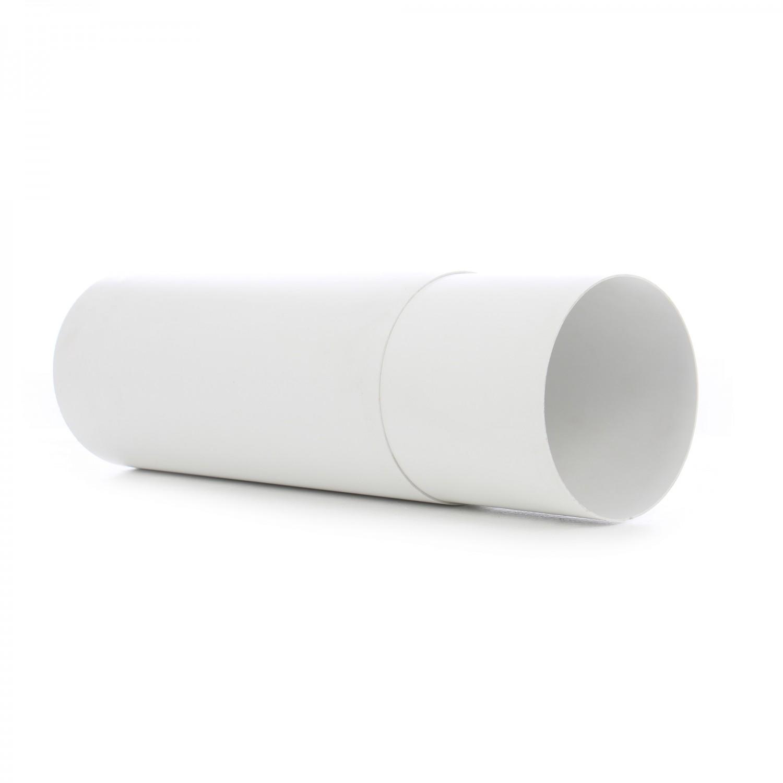 Tub telescopic, pentru ventilatie, Vents, PVC, D 125 mm, 350 - 500 mm