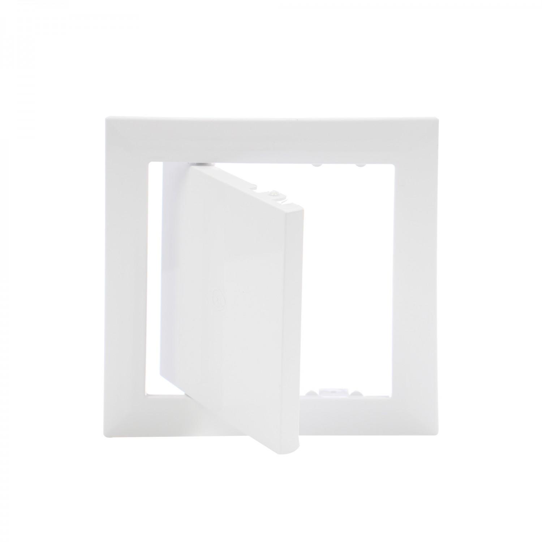 Usita vizitare, pentru mascarea golurilor de acces, Vents, PVC, 147 x 147 mm