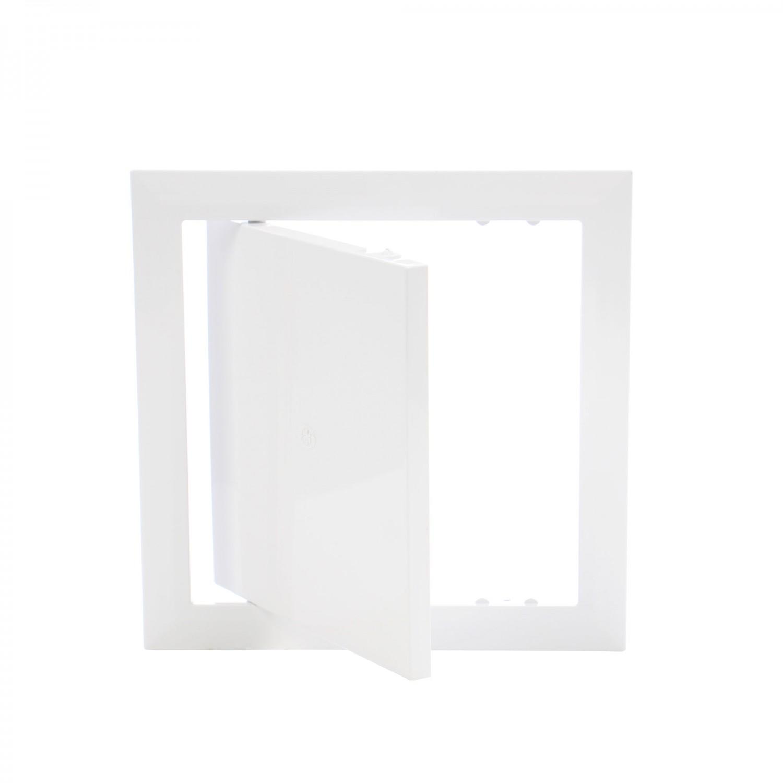 Usita vizitare, pentru mascarea golurilor de acces, Vents, PVC, 197 x 197 mm