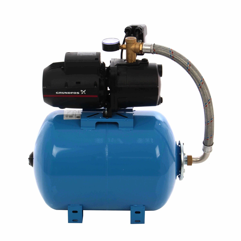 Hidrofor Grundfos JPA 4-54, cu pompa electrica centrifuga + rezervor 50 L + presostat + manometru + furtun flexibil + racord, 1130 W