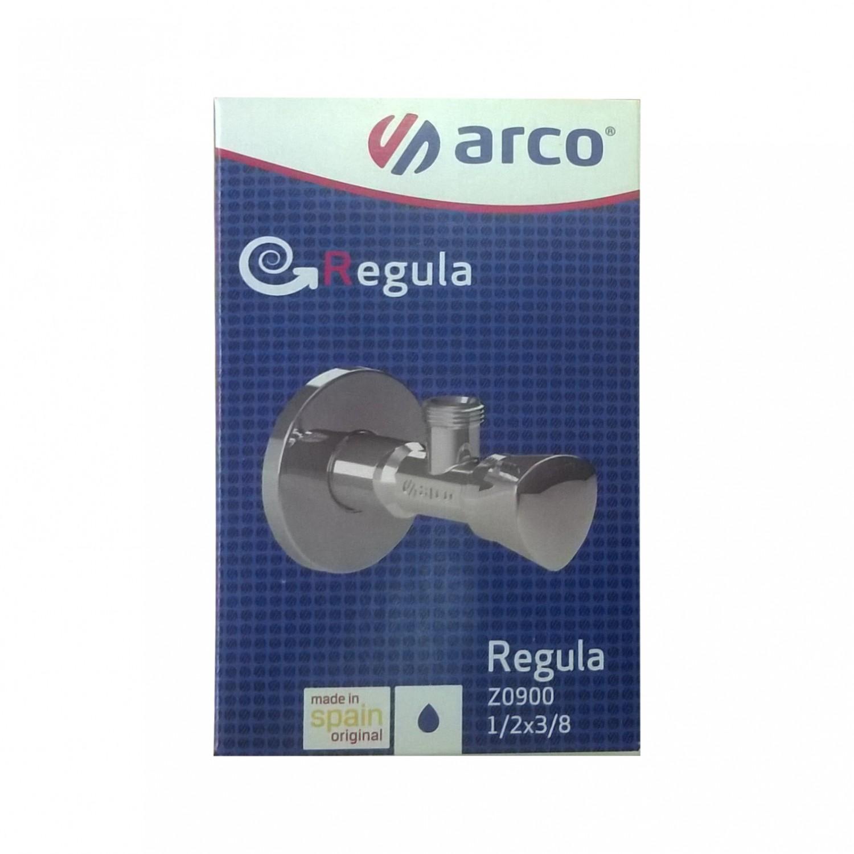 Robinet coltar cu ventil incorporat, Arco Regula, Z0900, D 1/2 x 3/8 inch